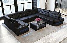 Sofa Dreams Leder Wohnlandschaft Como U Form