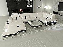 Sofa Dreams Leder Wohnlandschaft Messana in der U