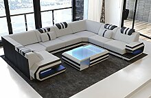Sofa Dreams Luxus Stoff Wohnlandschaft Ragusa U