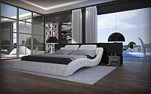 Sofa Dreams Polsterbett Mood in Weiss mit edlen