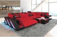 Sofa Dreams Sofa Apollonia S, U Form rot