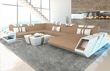 Sofa Dreams Sofa Apollonia XXL-S, U Form