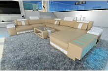 Sofa Dreams Sofa Bellagio, U Form XXL gelb