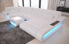 Sofa Dreams Sofa Concept, U Form weiß