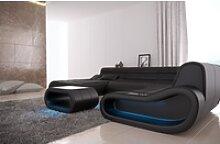 Sofa Dreams Sofa Concept, U Form XXL blau