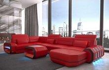 Sofa Dreams Sofa Roma, U Form rot