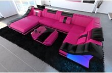 Sofa Dreams Sofa Turino, U Form rosa