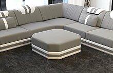 Sofa Dreams Stoff Hocker Ragusa