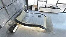 Sofa Dreams Wasserbett Frankfurt in Leder mit LED