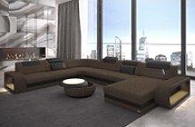 Sofa Dreams Wohnlandschaft Berlin XXL H, XXL U