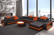Sofa Dreams Wohnlandschaft Berlin, XXL U Form