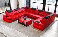 Sofa Dreams Wohnlandschaft Como, U Form Ledersofa