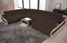 Sofa Dreams Wohnlandschaft Concept H, XXL U Form