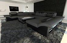 Sofa Dreams Wohnlandschaft Enzo M, XXL U Form
