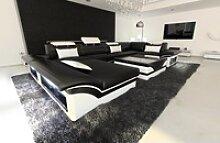 Sofa Dreams Wohnlandschaft Enzo, U Form Ledersofa