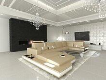 Sofa Dreams Wohnlandschaft Messana, U Form