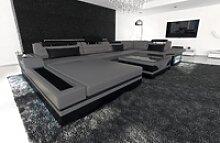 Sofa Dreams Wohnlandschaft Mezzo, U Form Ledersofa