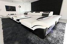 Sofa Dreams Wohnlandschaft Monza, U Form Ledersofa