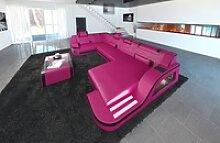 Sofa Dreams Wohnlandschaft Palermo, U Form