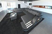 Sofa Dreams Wohnlandschaft Palermo, XXL U Form