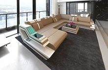 Sofa Dreams Wohnlandschaft Ravenna, XXL U Form