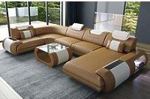 Sofa Dreams Wohnlandschaft Rimini, U Form