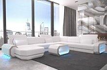 Sofa Dreams Wohnlandschaft Roma, XXL U Form
