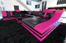 Sofa Dreams Wohnlandschaft Turino, XXL U Form