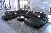 Sofa Dreams Wohnlandschaft Venedig, XXL U Form