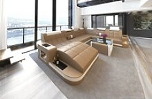 Sofa Dreams Wohnlandschaft Wave, XXL U Form