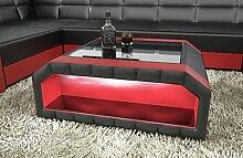 Sofa Dreams Wohnzimmertisch Matera in Leder als
