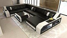 Sofa Dreams XXL Leder Wohnlandschaft Matera XXL