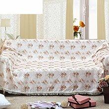 Sofa Eine Volle Handtuch/Sofabezug/Slip Sofa Stoff-C 200x230cm(79x91inch)