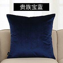 Sofa Farbe Kissen im europäischen Stil Bett Kissen mit Kern, 45x45cm, f
