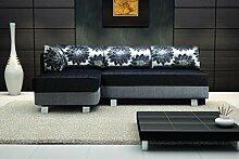 Sofa »FLOWER« Elegante Wohnlandschaft inkl. Schlaffunktion