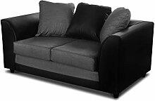 Sofa Grand 2-Sitzer mit Kissen, Couch 2-er,