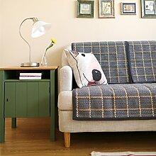 Sofa-handtuch abdeckungen Pet-sofabezug europ?ische Sofa Abdeckung Sessel deckt Couch protector Couch kissenhüllen M?bel hussen Sofa umfasst für hunde Sofa sers für wohnzimmer-A 70x210cm(28x83inch)