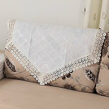 Sofa Handtuch Spitzen/Rückenlehne Handtuch/Arm Baumwolltuch/Europäische Bettwäsche Deckt Handtuch-A 85x140cm(33x55inch)