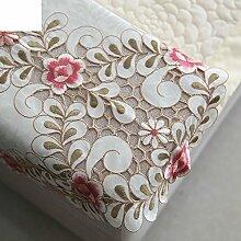 Sofa Handtuch Spitzen/Rückenlehne Handtuch/Style Of Geschnittenen Arm Handtuch/Europäischen Stil Bestickt Zurück Schals-A