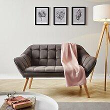 Sofa in Grau 'Monique'
