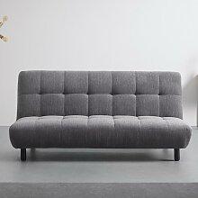 Sofa in grau mit Schlaffunktion 'Camilla'
