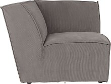Sofa James - Eckmodul - Grau