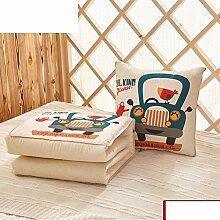 Sofa Kissen Abdeckungen Dual-Use/ Auto-Kissen/ Office napping Kissen/ Kissen-F 40x40cm(16x16inch)