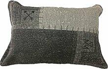 Sofa-Kissen Dekokissen Vintage Design Couch Lyrical Pillow 210 Patchwork Muster Baumwolle 40x60 cm Mehrfarbig/ Zierkissen günstig online kaufen