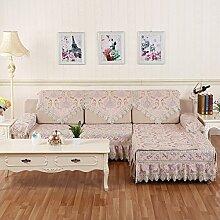 Sofa-Kissen/Europäische Plüsch Sand-ProofNet/[Rückenlehne Handtuch]-B 90x160cm(35x63inch)