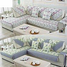 Sofa-kissen/Four Seasons Sofa Handtuch/Fashion Sofa Handtuch/Sommer-sofa-matte/Einfache Moderne Sofa Handtuch-D 90x210cm(35x83inch)