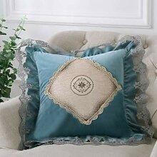 Sofa Kissen Kissen europäischen Spitze Seite