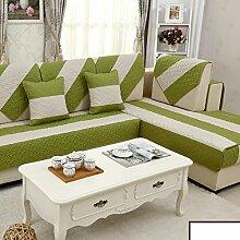Sofa-kissen,kleine frische sommer leinen mat-A 90x160cm(35x63inch)