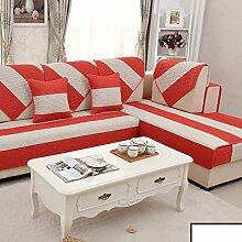 Sofa-kissen,kleine frische sommer leinen mat-B 110x180cm(43x71inch)