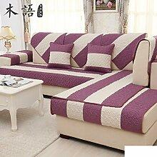 Sofa-kissen,kleine frische sommer leinen mat-C 70x180cm(28x71inch)